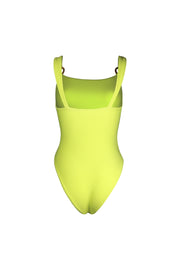 Hunter One Piece (Faux Suede Citron)