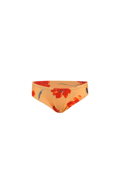 bamm-bamm brief (peach rust floral)