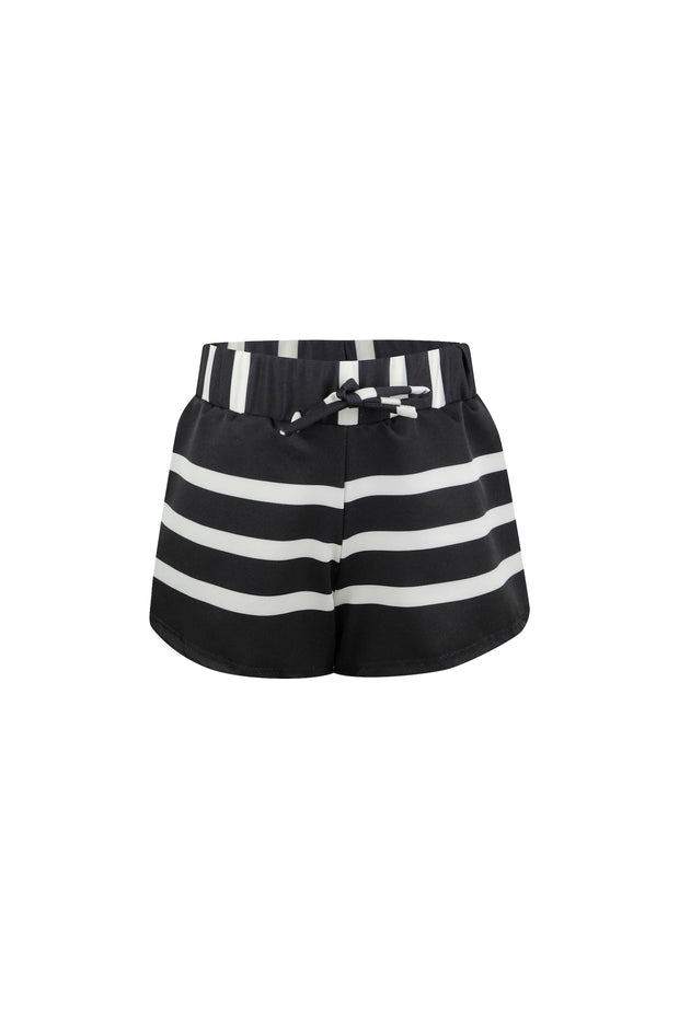 shorties (black cream stripe)