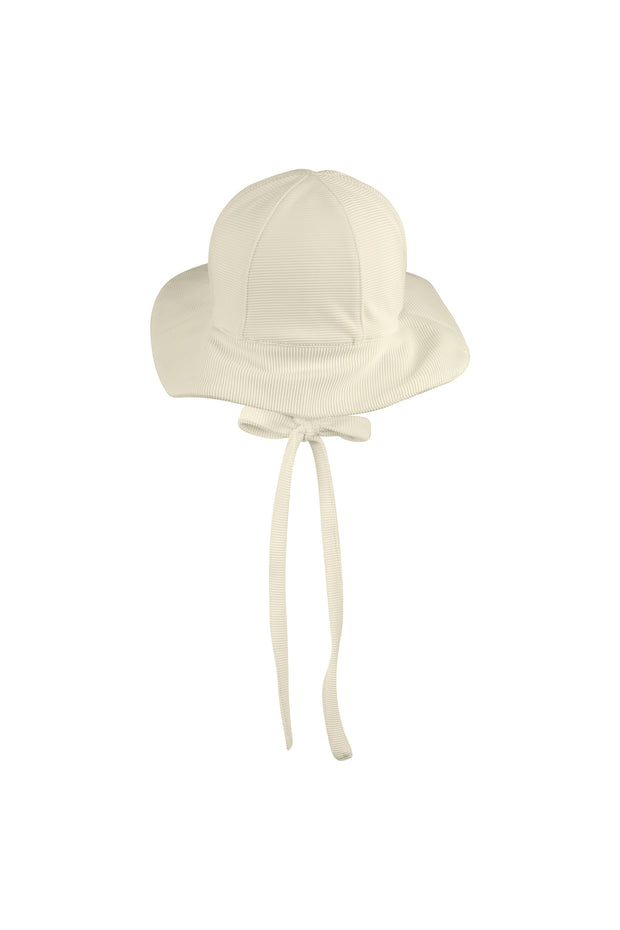 sun hat (ribbed cream)