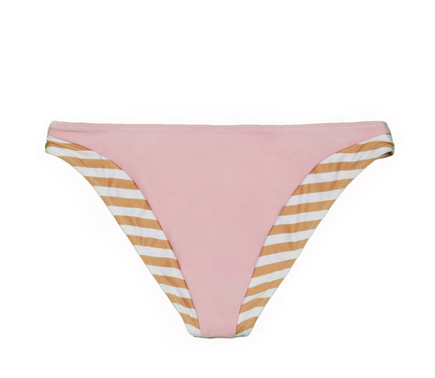 The Divine Bottom (Tan White Stripe/Pink)