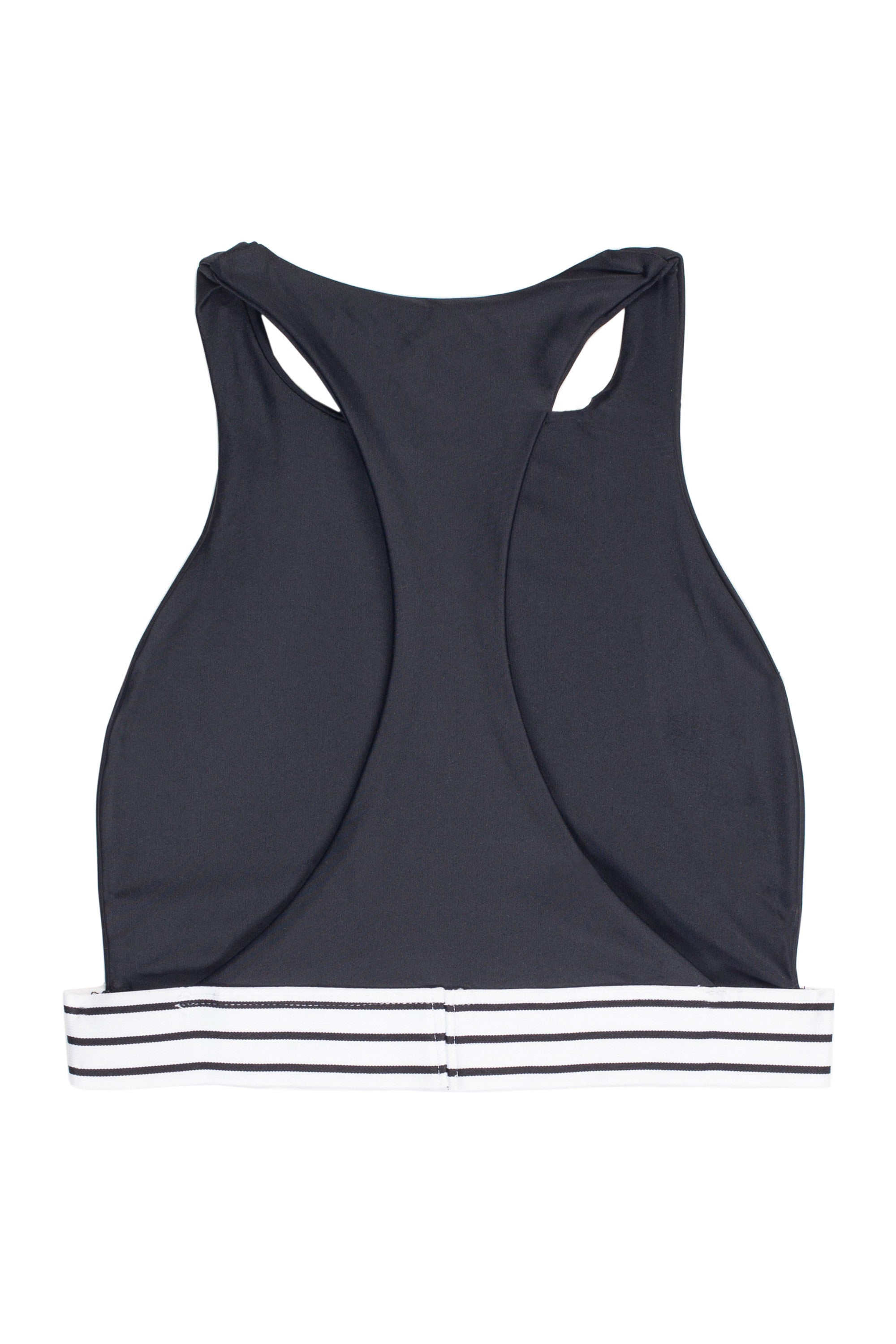The Honey Halter (Noir/Blanc & Noir Stripe Elastic)