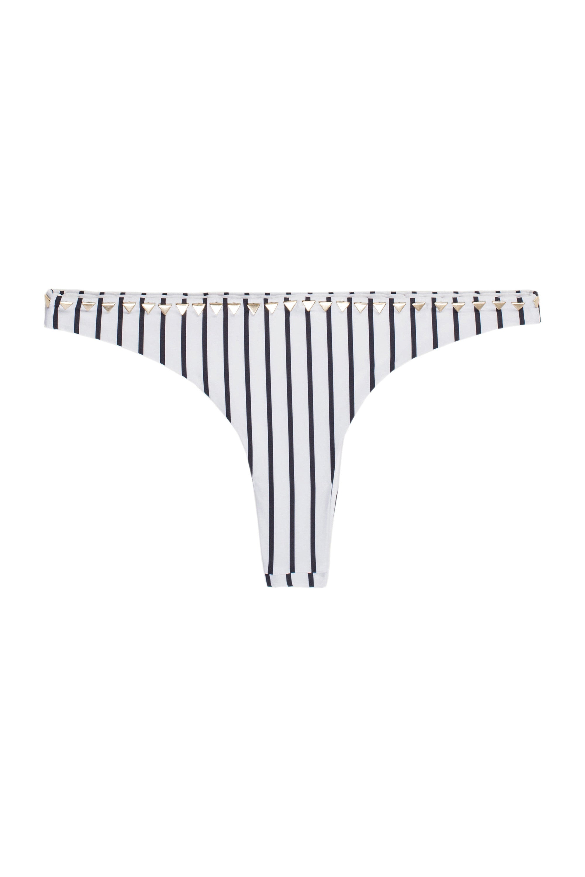 The Sphinx Bottom (Stripe Blanc & Noir)