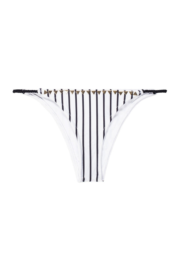The Vamp Bottom (Stripe Blanc & Noir)