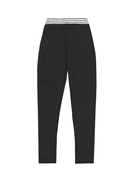 Elastic Leggings (Black)