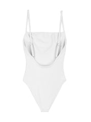 One Piece (Ribbed White)