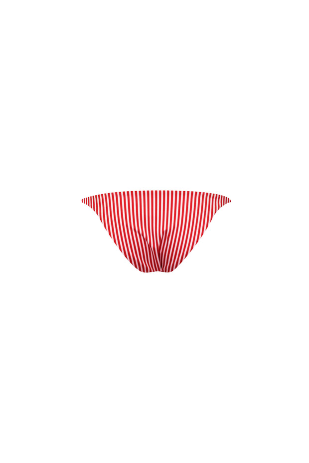 String Bottom (Red/White Stripe)