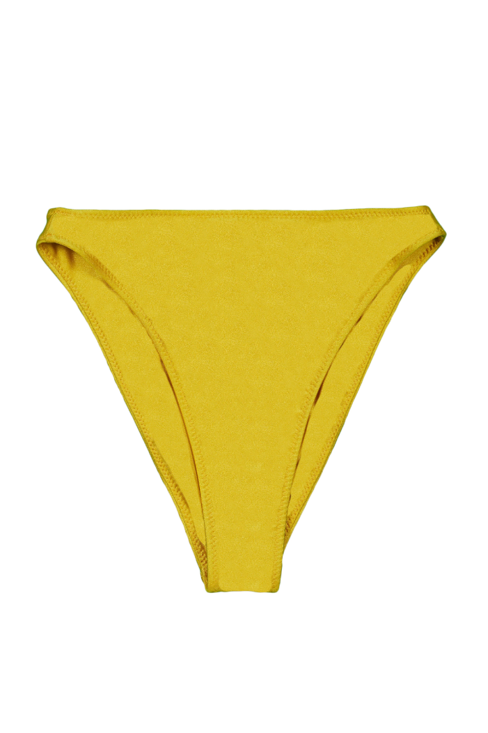 High Rise Bottom (Mustard)