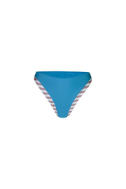 The Divine High Rise Bottom (Rosy Cream Stripe/Aqua)