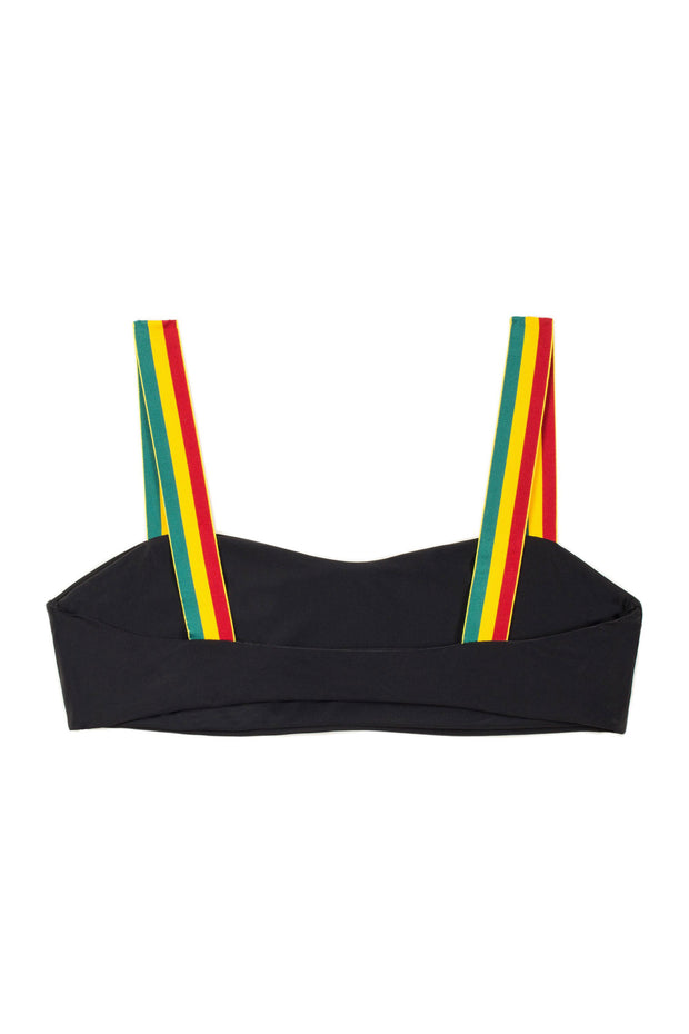 The Foxy Top (Noir Rasta)