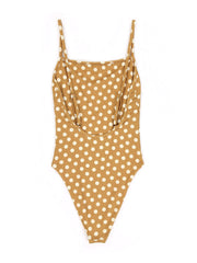 One Piece (Sunflower Polka Dot)