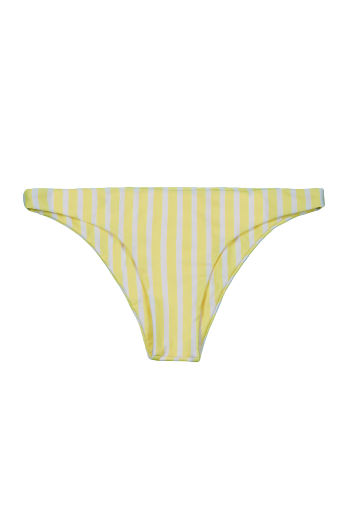 Brief Bottom (Yellow White Stripe)