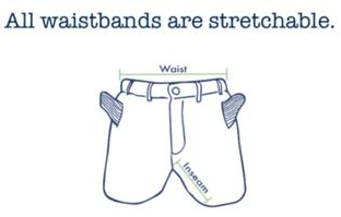 stretchy waistbands