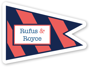 Rufus & Royce Sticker Pack (Set of 5) - Rufus & Royce