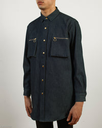 Indigo Denim Work Shirt