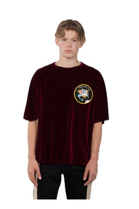 OverSized Tshirt Claret Red