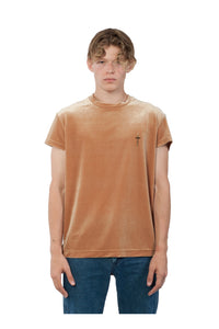 Cap  Sleeve Tshirt Gold