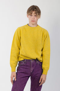 Sweater HIKE Acid Yellow