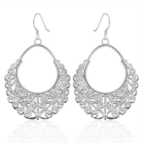 Sterling Silver Classic Fifth Avenue Inspired Earring - rubiquejewelry.com