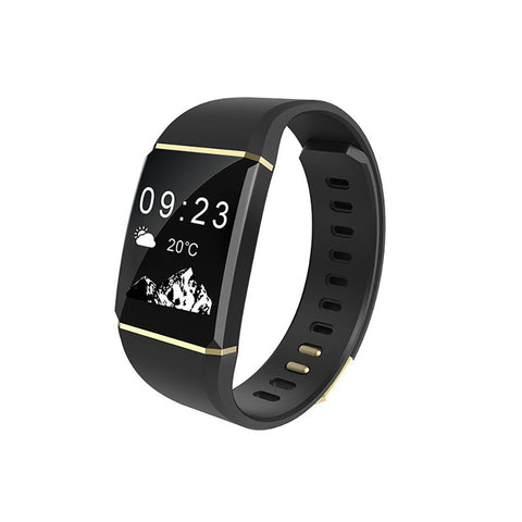 Swiss Time Smart Watch 110 Touch ID Screen for iPhone X and all Androids- Gold