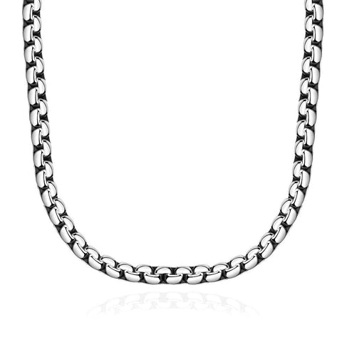 Classic Paris Chain Stainless Steel Necklace - rubiquejewelry.com