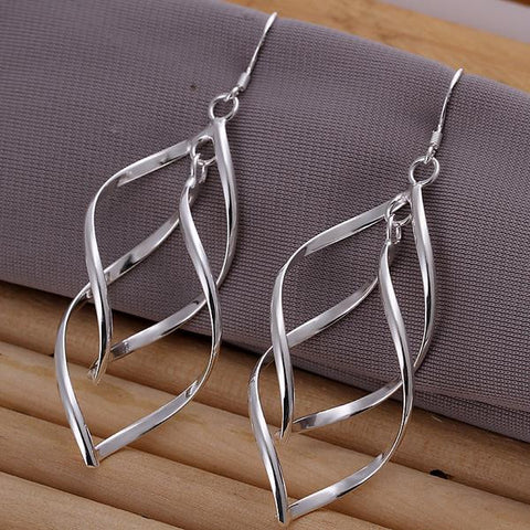 Sterling Silver Thin Ball Drop Drop Earring - rubiquejewelry.com