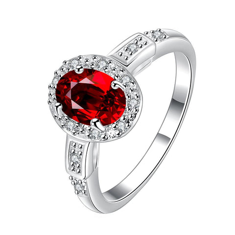 Petite Ruby Gem Jewels Covering Ring - rubiquejewelry.com