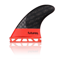 FUTURES JC1 BLACKSTIX 3.0 THRUSTER SET