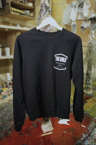 THE GUILD LAMINATE RAGLAN SWEATSHIRT