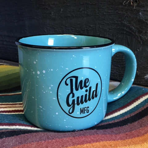 THE GUILD 13oz. CERAMIC CAMPFIRE MUG - MINT