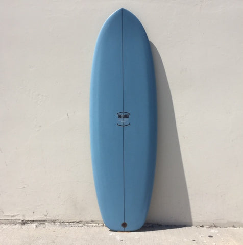 "THE GUILD 5'6"" MATCHBOX - BLUE AIRBRUSH"