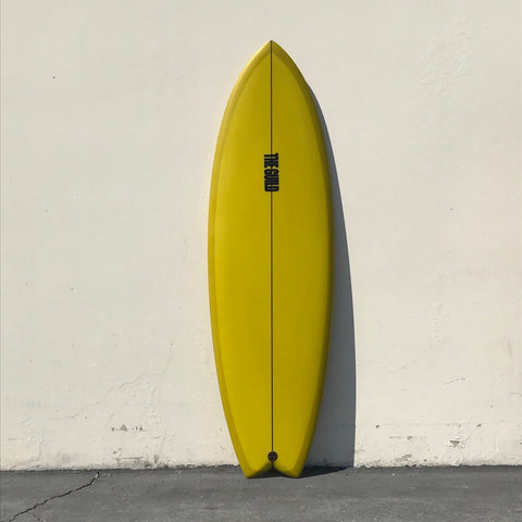 "THE GUILD 5'8"" PESCADO - GREEN"