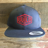 THE GUILD DIAMOND EMBROIDERED SNAP BACK CAP