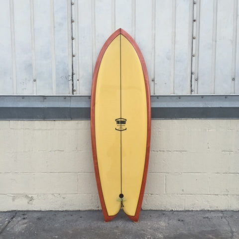 "THE GUILD 5'6"" ANGLER FISH - YELLOW/ABSTRACT"
