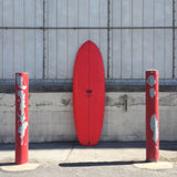 "THE GUILD 5'6"" MATCHBOX - RED AIRBRUSH"