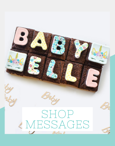 Brownie Gifts Edible Messages