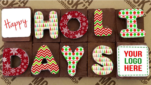 Corporate Holidays Brownie Message