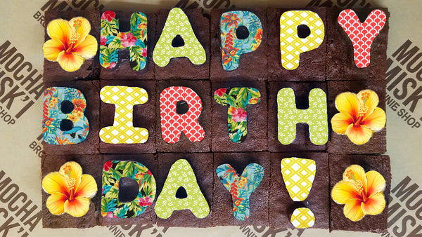 Happy Birthday Brownie Message