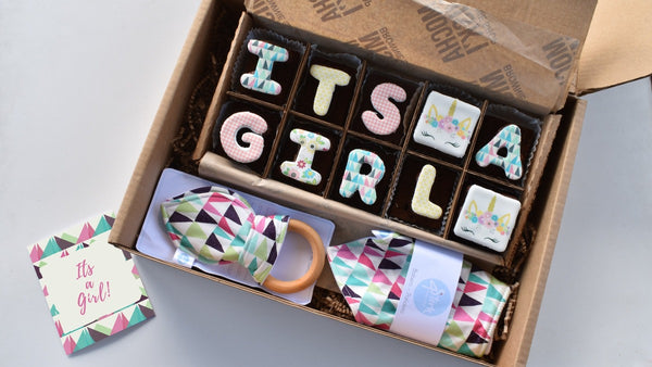 It's a Girl Gift Box - Unicorn