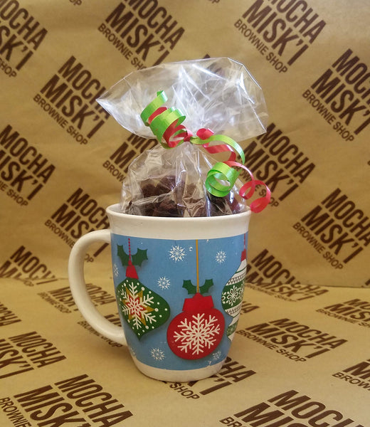 Mocha Misk'i - Cup with Brownies Holidays