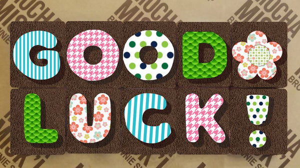 Brownie Message - Good Luck