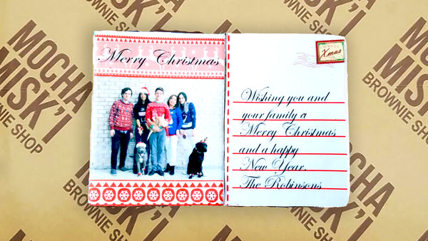 Holiday Postcard Brownie