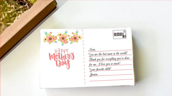 Mother's Day Postcard Brownie