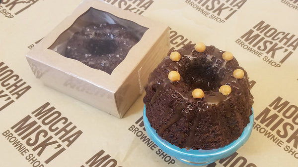 Mocha Misk'i - Bundt Brownie