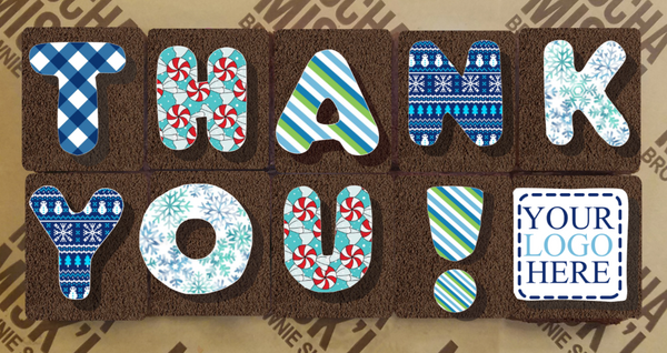Corporate Thank You Holidays Brownie Message