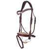 Brown Designer D.D Leather Dressage Horse Bridle