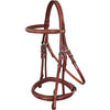 Brown Designer Havana  Leather Dressage Horse Bridle