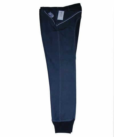 Blue Damask Breeches
