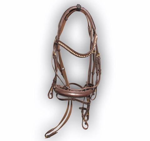 Brown Soft D.D Leather Bridle