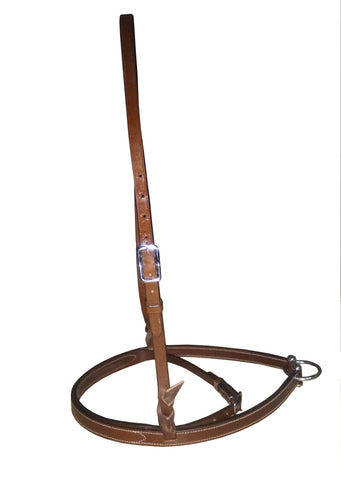 D.D Leather Noseband  Combo